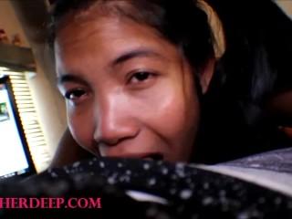 Pigtails Asian Teen Heather Deep Selfie Best Deepthroat Blow Job In The World
