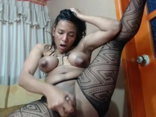 Michelle Ties His Tits With Braids And Fuck's