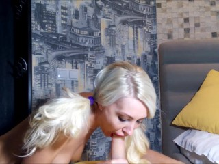 Face Sitting Pigtail Blow Job And Anal Teen