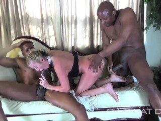 SLUTTY KAT D ROCKIN PIGTAILS IN A Big Black Dick DOUBLE TEAM PART TWO – ANAL AND DP –