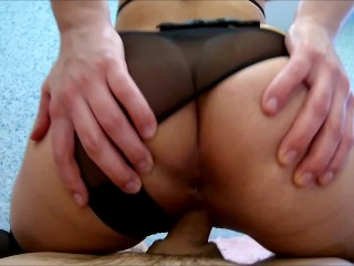 Easter With The Teacher Of Magic: Cowgirl ,Blowjob, Sperm On Feet