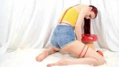 Nubile Misty Masturbates And Ejaculates In Her Shorts – Nonnude Dress-up